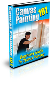 Canvas Painting 101 | eBooks | Arts and Crafts