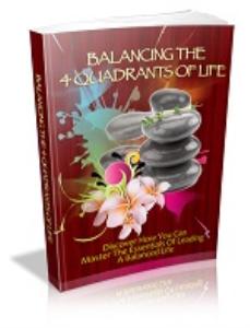 balancing the four quadrants of life