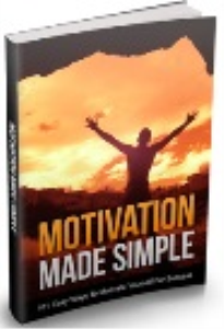 motivation made simple