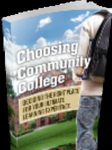 Choosing Community College | eBooks | Education