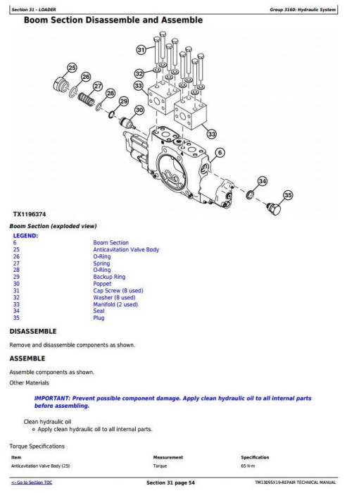 Fourth Additional product image for - John Deere 944K Hybrid 4WD Loader (SN. from E669456) Service Repair Technical Manual (TM13095X19)