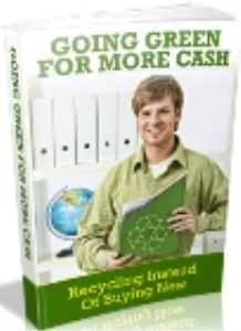 Going Green For More Cash | eBooks | Business and Money