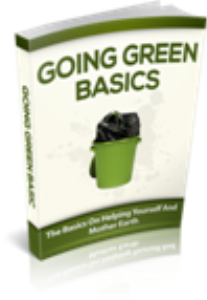 Going Green Basics | eBooks | Home and Garden