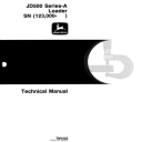 John Deere 500A Backhoe Loader Diagnostic and Repair Technical Service Manual (tm1025) | Documents and Forms | Manuals