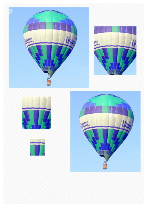 Second Additional product image for - Balloon 1. Craft papers for cardmaking and scrapbooking