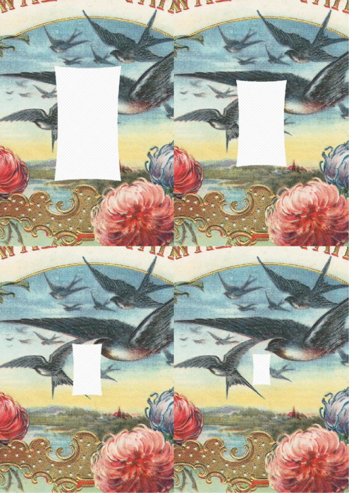 Third Additional product image for - Bird 2. Craft papers for cardmaking and scrapbooking