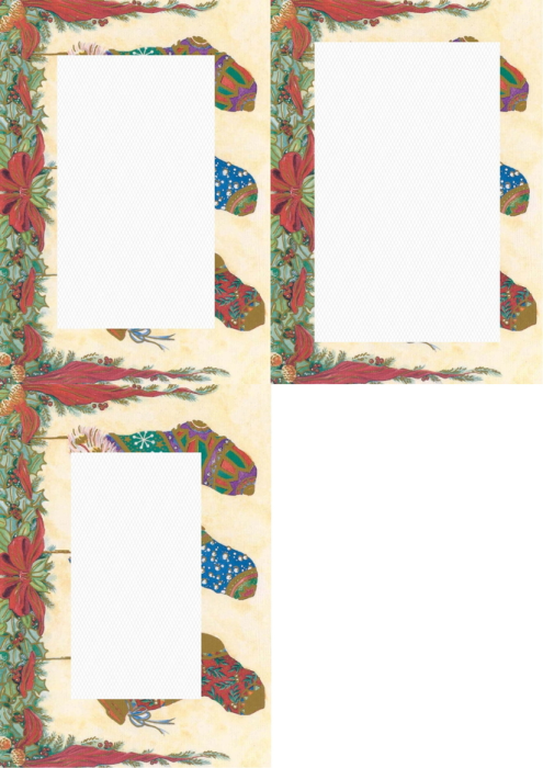 Second Additional product image for - Christmas 1. Craft papers for cardmaking and scrapbooking