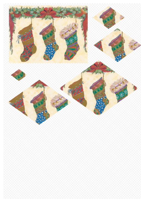 Fourth Additional product image for - Christmas 1. Craft papers for cardmaking and scrapbooking