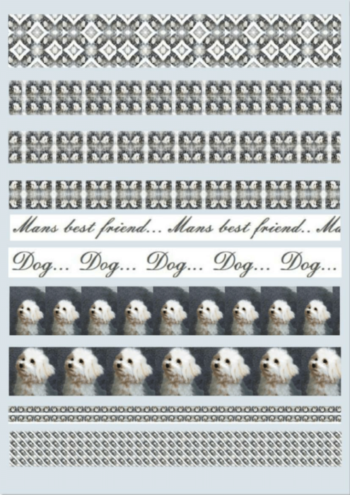 Second Additional product image for - Dog 1. Craft papers for cardmaking and scrapbooking