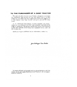 Case Ih 1030 Comfort King Draft O Matic Tractor Operators Manual Download | eBooks | Automotive