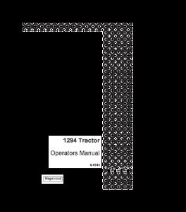 Case Ih 1294 Tractor Operators Manual Download | eBooks | Automotive