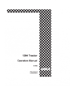 case ih 1394 tractor operators manual downloadcase ih 1394 tractor operators manual download