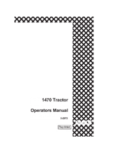 case ih 1470 tractor operators manual download