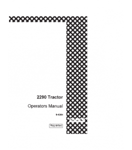 Case Ih David Brown 2290 Tractor Operators Manual Download | eBooks | Automotive