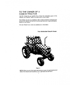 case ih 2294 tractor operators manual download