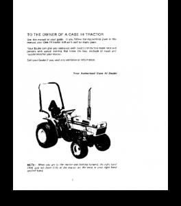 Case Ih 235 235h Tractor Operators Manual Download | eBooks | Automotive