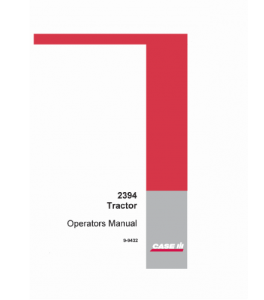 Case Ih 2394 Tractor Operators Manual Download | eBooks | Automotive