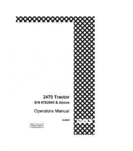 case ih 2470 tractor operators manual download