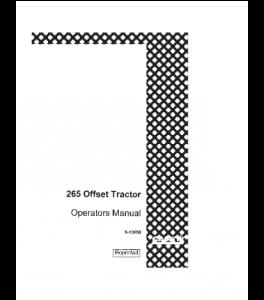 Case Ih 265 Offset Tractor Operators Manual Download | eBooks | Automotive