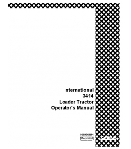 Case Ih International 3414 Loader Tractor Operators Manual Download | eBooks | Automotive