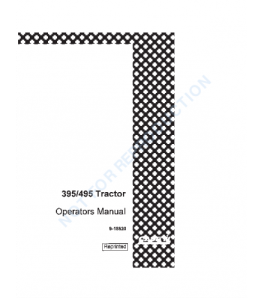 Case Ih 395 495 Tractor Operators Manual Download | eBooks | Automotive