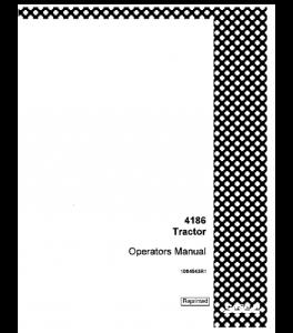 Case Ih 4186 Tractor Operators Manual Download   eBooks   Automotive