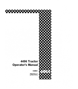 Case Ih 4496 Tractor Operators Manual Download   eBooks   Automotive