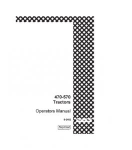 Case Ih 470 570 Tractor Operators Manual Download | eBooks | Automotive