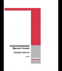Case Ih 5220 5230 5240 5250 Maxxum Tractor Operators Manual Download | eBooks | Automotive