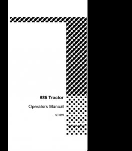 Case Ih 685 Tractor Operators Manual Download | eBooks | Automotive