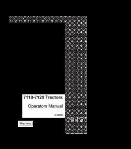 Case Ih 7110 7120 Tractor Operators Manual Download | eBooks | Automotive