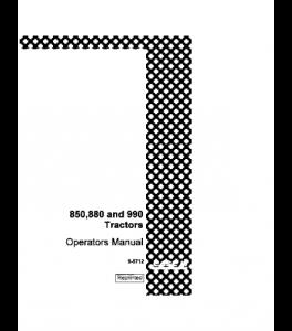 Case Ih David Brown 850 880 990 Tractor Operators Manual Download | eBooks | Automotive