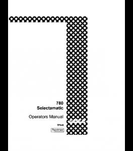 Case Ih David Brown 780 Selectamatic Tractor Operators Manual Download | eBooks | Automotive