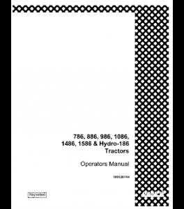 Case Ih 786 886 986 1086 1486 1586 Hydro 186 Tractor Operators Manual Download | eBooks | Automotive