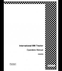 Case Ih International 856 Tractor Operators Manual 1082650r2 | eBooks | Automotive