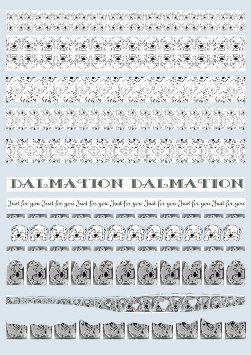 First Additional product image for - 101 Dalamations 1. Craft papers for cardmaking and scrapbooking