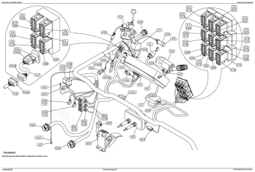 Second Additional product image for - John Deere 250D,300D Articulated Dump Truck(BELL SN.200366-200536) Diagnostic Service Manual(TM1950)