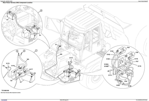Third Additional product image for - John Deere 250D,300D Articulated Dump Truck (BELL, DW) Diagnostic and Test Service Manual (TM2115)