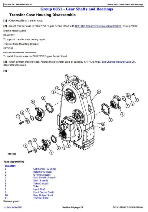 Fourth Additional product image for - John Deere 250D,300D Articulated Dump Truck(SN.609166-626760)Service Repair Technical Manual(TM1161)
