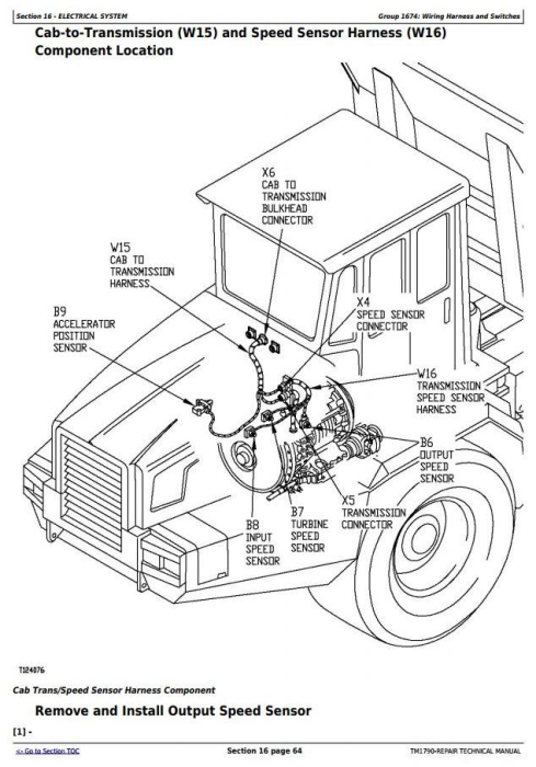Second Additional product image for - John Deere 350C and 400C Articulated Dump Truck Service Repair Technical Manual  (TM1790)