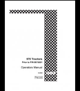 Case Ih 970 Tractor Operators Manual Download | eBooks | Automotive