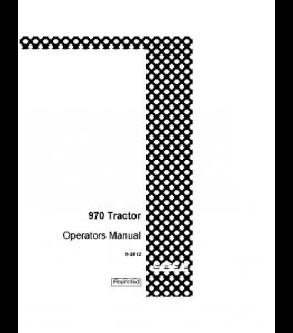 Case Ih 970 Tractor Operators Manual 9-2812 | eBooks | Automotive