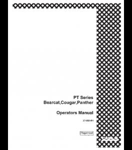 Case Ih Bearcat Pt Cougar Pt Panther Pt Tractor Operators Manual Download | eBooks | Automotive