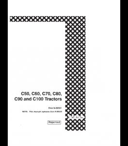 Case Ih C50 C60 C70 C80 C90 C100 Tractor Operators Manual 9-28331 | eBooks | Automotive