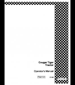 Case Ih Cougar Tiger 1 Tractor Operators Manual 37-002 | eBooks | Automotive