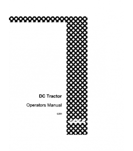 Case Ih Dc Tractor Operators Manual 5281 | eBooks | Automotive
