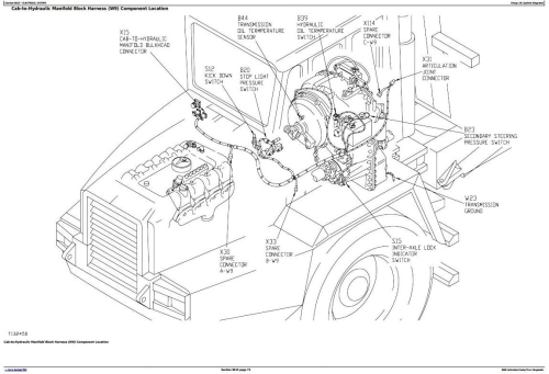 Second Additional product image for - John Deere 300C Articulated Dump Truck Diagnostic, Operation and Test Service Manual  (tm1787)