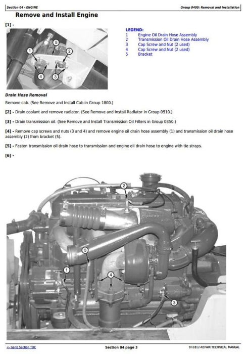 Second Additional product image for - Bell B25C Articulated Dump Truck Service Repair Technical Manual (tm1812)