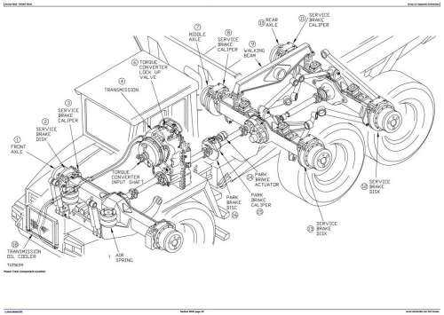 First Additional product image for - Bell B30C Articulated Dump Truck Diagnostic, Operation and Test Service Manual (tm1813)