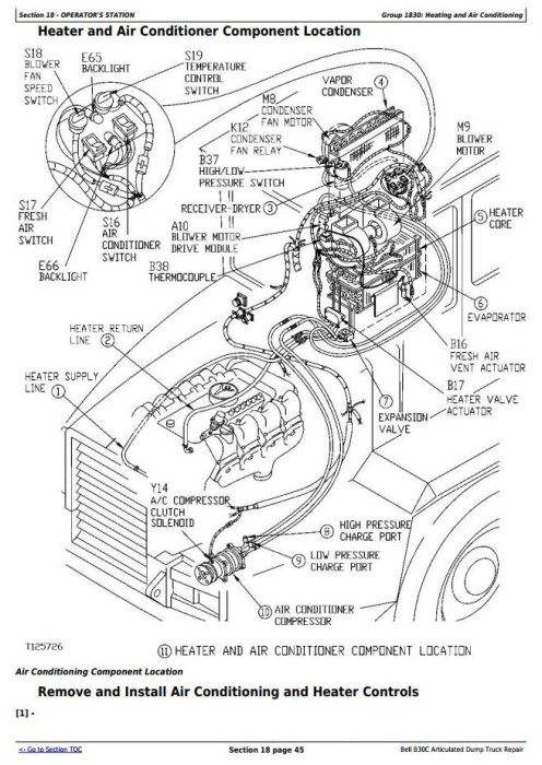First Additional product image for - BELL B30C Articulated Dump Truck Service Repair Technical Manual  (tm1814)